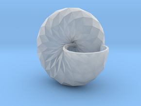 Snail Shell in Smooth Fine Detail Plastic