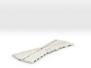 P-165st-crossing-22-5-100-1a in White Natural Versatile Plastic
