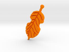 Violin Leaf in Orange Processed Versatile Plastic