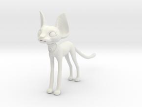 Egpytian Cat in White Strong & Flexible