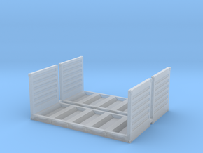 20ft Coil Container (2pc) in Smooth Fine Detail Plastic