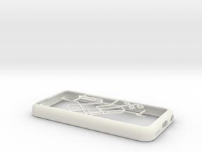 Singapore MRT network map iPhone 5c case in White Natural Versatile Plastic
