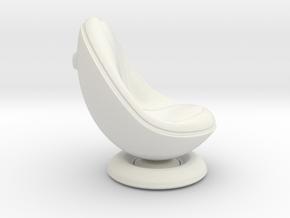 Kiss Chair (original design) in White Natural Versatile Plastic