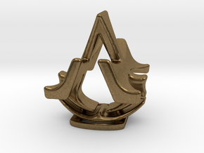 Assassins Creed Desk Sculpture in Natural Bronze