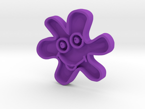 Smiling star in Purple Strong & Flexible Polished