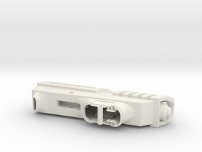 SK-11 Train in White Natural Versatile Plastic