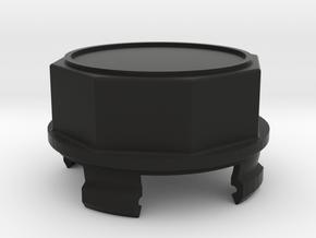 Mercedes, Vanagon Center Cap Plastic No Logo in Black Natural Versatile Plastic