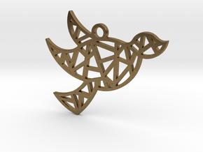 Dove's Nest in Natural Bronze