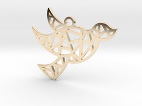 Dove's Nest in 14K Yellow Gold
