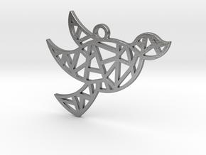 Dove's Nest in Natural Silver