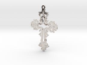 Dracula Untold Cross in Rhodium Plated Brass