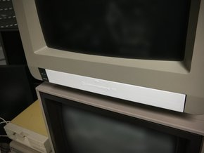 Cover compatible to Commodore Monitor 1901 in White Strong & Flexible