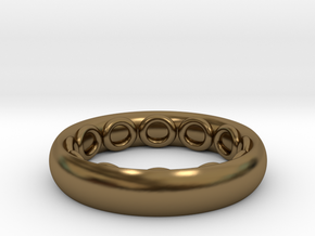 Octoring (5) in Polished Bronze