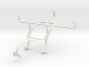 Controller mount for Xbox 360 & Motorola DROID Tur in White Natural Versatile Plastic