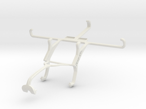 Controller mount for Xbox 360 & Sony Xperia Z2 in White Natural Versatile Plastic