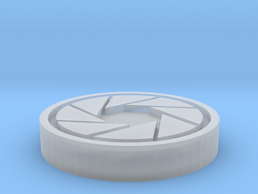 Aperture Science Coin in Smooth Fine Detail Plastic