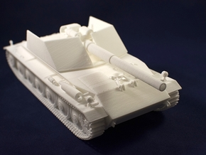 1:35 Rhm.-Borsig Waffenträger from World of Tanks  in White Natural Versatile Plastic