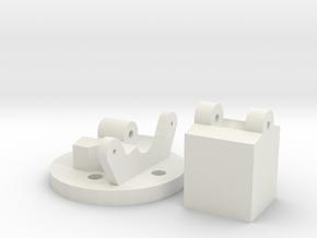 StickMountV4 in White Natural Versatile Plastic