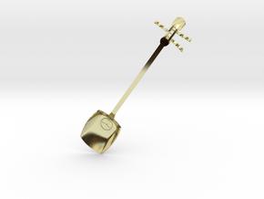 Tsugaru Shami-spoon in 18K Gold Plated