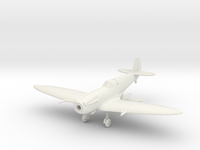 "Spitfire F Mk XIVE ""high back"" in White Natural Versatile Plastic: 1:144"