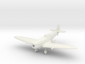 "Spitfire F Mk XIVE ""high back"" in White Natural Versatile Plastic: 1:144"
