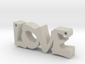 Love in Natural Sandstone