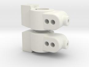 CUSTOMWORKS - HUB CARRIER - 3 DEGREE in White Natural Versatile Plastic