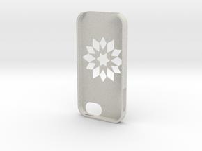 Flower Iphone5 Case in Full Color Sandstone