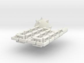 Kaiser Flail in White Natural Versatile Plastic