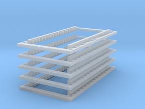 1/87 Rahmen für verschiebbare Sattelkupplung 5er in Frosted Ultra Detail