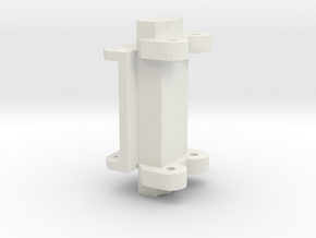 Gapo Adapter LIEBHERR 32TT (NZG) in White Natural Versatile Plastic