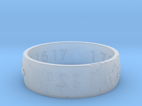 Moon Ring V3 Size 11.5 Ring Size 11.5 in Smooth Fine Detail Plastic