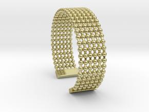 bracelet balls ET in 18k Gold Plated Brass