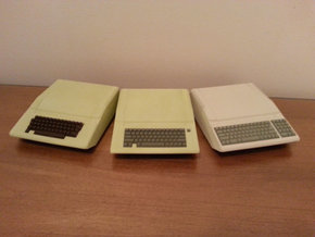 Apple II/II+ Raspberry Pi Enclosure SHELL in White Natural Versatile Plastic