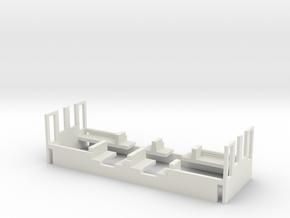 Inneneinrichtung für Wiener Linien Modell Type H,K in White Natural Versatile Plastic