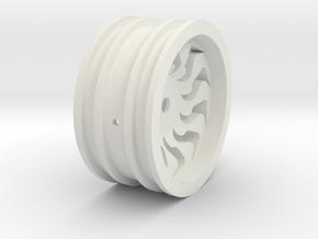 Felge 1-10 II in White Natural Versatile Plastic