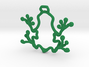 Peeper The Frog in Green Processed Versatile Plastic