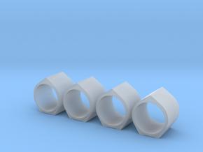 H0 1:87 Großlastrohr DN 1000/1000 in Smooth Fine Detail Plastic