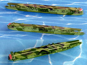 "IJN Aircraft-Carrier ""Ryuho"" 1/1800 in Smooth Fine Detail Plastic"