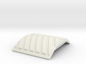 Airsoft Railguard Arrowhead in White Natural Versatile Plastic