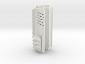 Airsoft AK Upper Handle in White Natural Versatile Plastic
