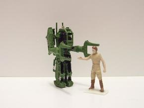 1/87 Scale EXO-LOADER 31.5mm  in White Natural Versatile Plastic