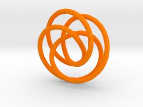 3D doodle in Orange Strong & Flexible Polished