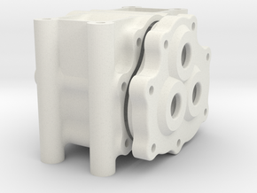 "Transfer Case ""Overdrive 1"" 20/30/35 in White Natural Versatile Plastic"