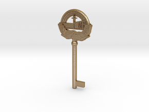 PIANOKEY APCH in Polished Gold Steel