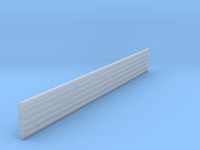 HO Scale 90 Degree Structure Corner Trim in Smooth Fine Detail Plastic