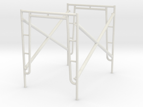 1:24 Scaffold in White Strong & Flexible