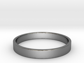 Simple and Elegant Unisex Ring | Size 10 in Polished Silver