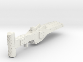 LoGH Alliance Missile Cruiser 1:3000 in White Natural Versatile Plastic