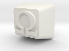 Cherry MX Omega Keycap in White Natural Versatile Plastic